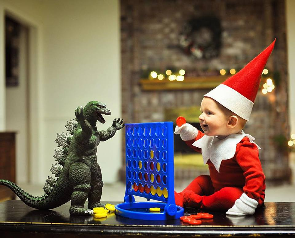 Elf-with-Godzilla