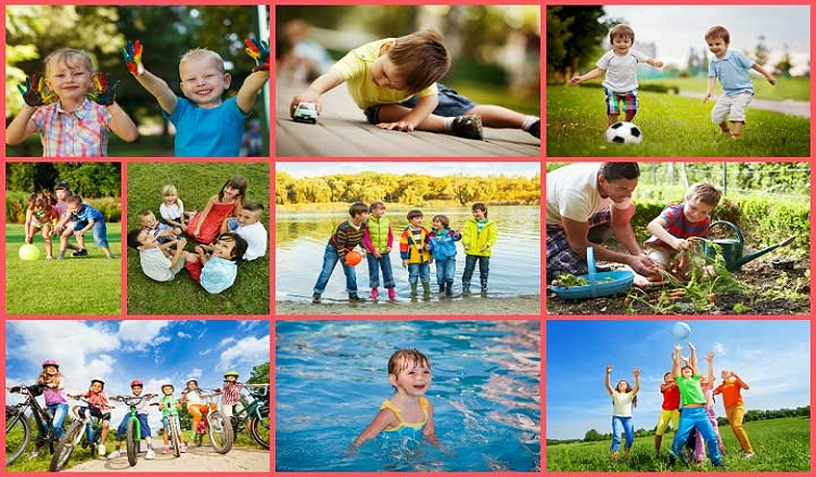 Outside Kid Games And Activities