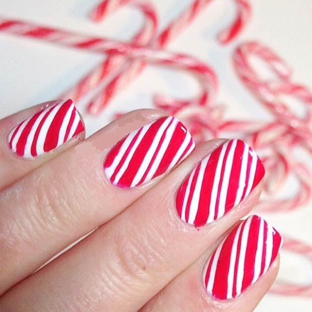Cute Christmas nail art designs-05