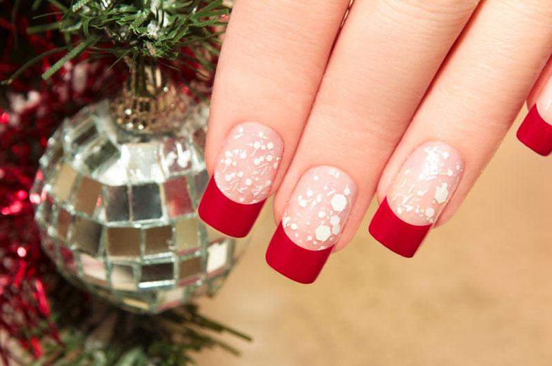 Cute Christmas nail art designs-07